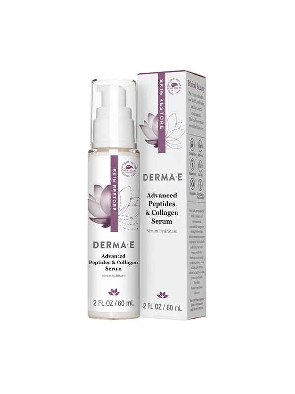 Derma E Advanced Peptide and Collegen Serum, 2oz.