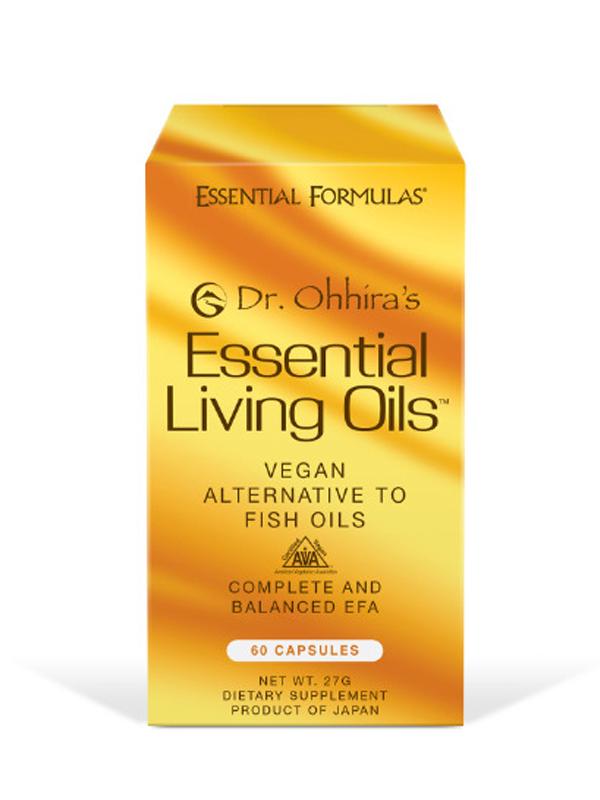 Dr. Ohhira's Essential Living Oils, 60 Vegan Soft Caps