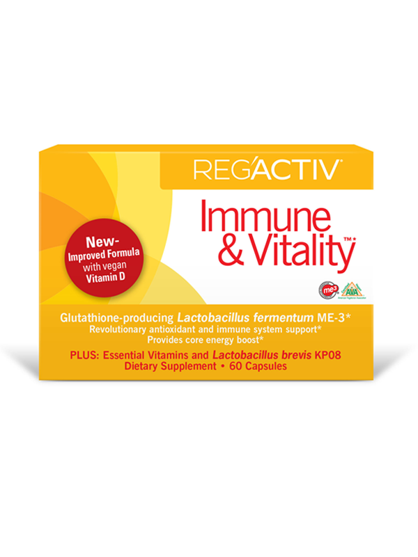 Reg'Activ Immune and Vitality, 60 caps
