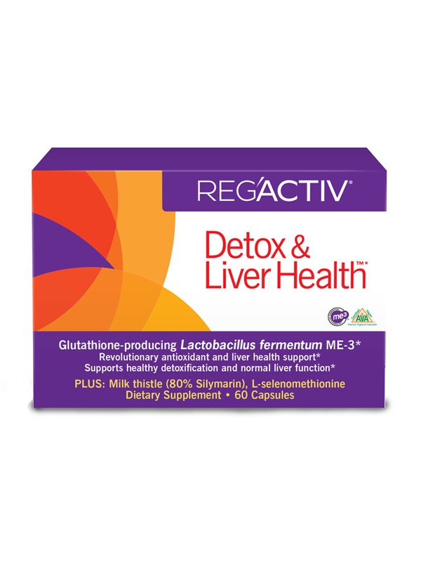 Reg'Activ Detox and Liver Health, 60 Caps