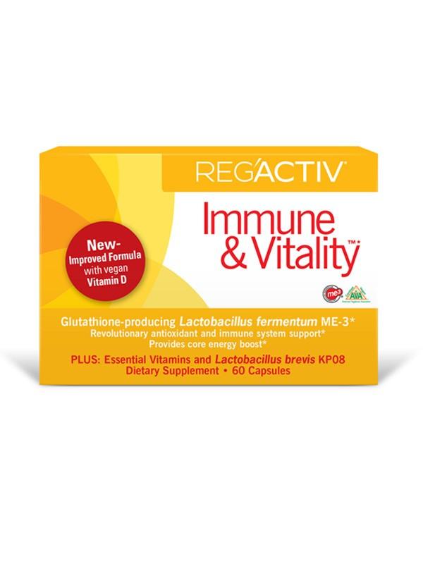 Reg'Activ Immune and Vitality, 60 caps