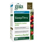 Gaia Herbs SleepThru, 60 Caps