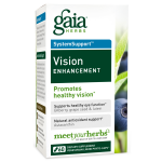 Gaia Herbs Vision Enhancement, 60 Caps