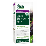 Gaia Herbs Black Elderberry  Syrup, 3 fl. oz.