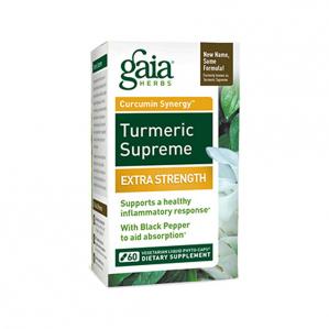 Gaia Herbs Turmeric Supreme, 60 Caps