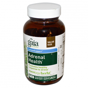 *CLEARANCE*  Gaia Herbs Adrenal Health, 120 Caps Value Size!  Exp 4/2018