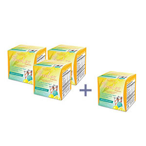 Threelac Probiotic, 60 Packets Buy 3 Get 1 Free!