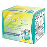 Global Health Trax FiveLac Probiotic, 60 Pkts