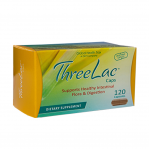 Global Health Trax ThreeLac Probiotic, 120 Capsules