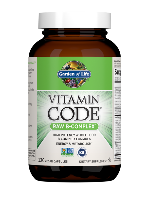 Vitamin Code Raw B Complex, 120 Capsules