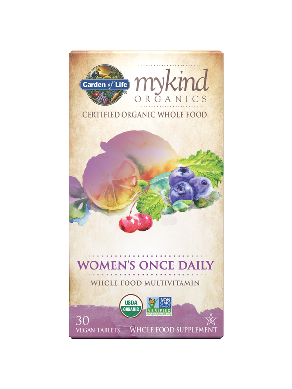 mykind Organics Women's Once Daily, 30 Count