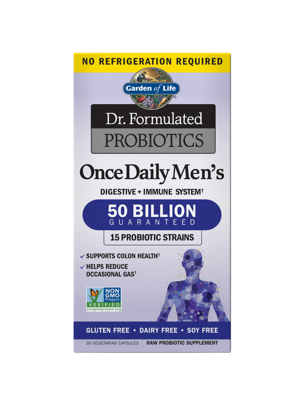 Dr. Formulated Probiotics Once Daily Men's Shelf Stable, 30 Capsules