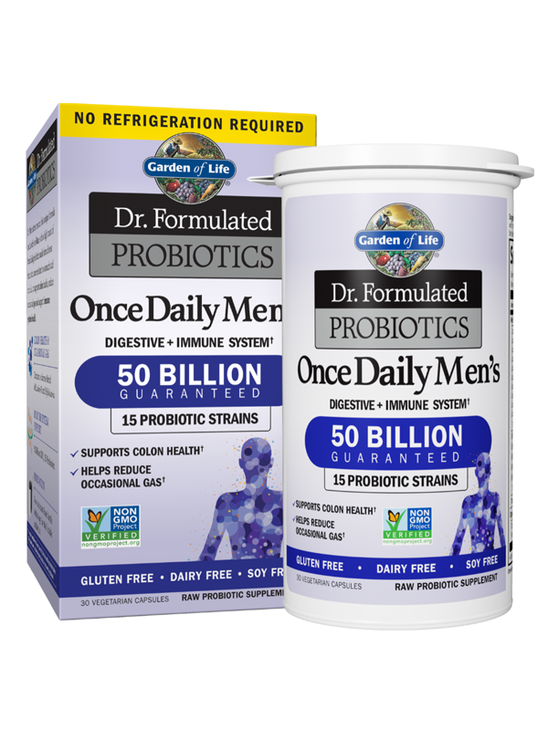 Dr. Formulated Probiotics Once Daily Mens Shelf Stable, 30 Capsules