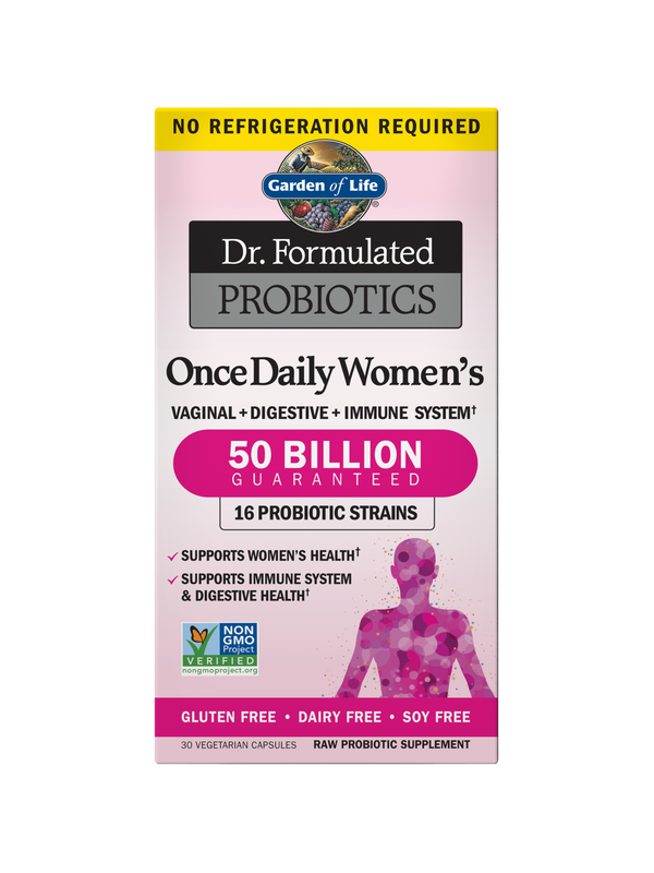 Dr. Formulated Probiotics Once Daily Women's Shelf Stable, 30 Capsules