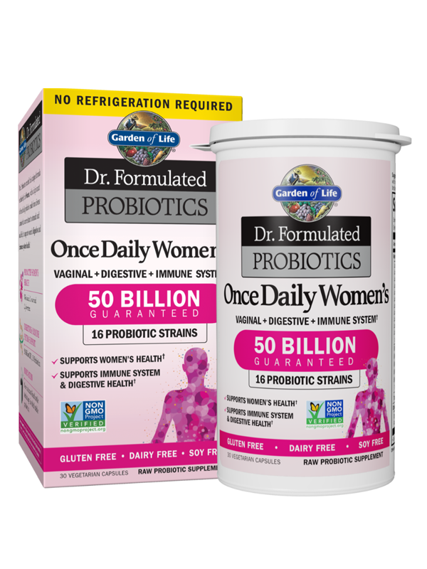 Dr. Formulated Probiotics Once Daily Womens Shelf Stable, 30 Capsules