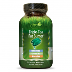 CLEARANCE - Irwin Naturals Triple Tea Fat Burner, 75 Softgels  Exp 4/2018
