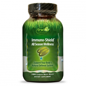 Irwin Naturals Immuno-Shield All Season Wellness, 100 Softgels
