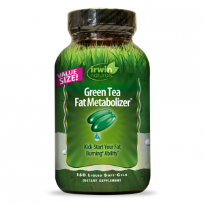 Irwin Naturals Green Tea Fat Metabolizer, 150 Softgels