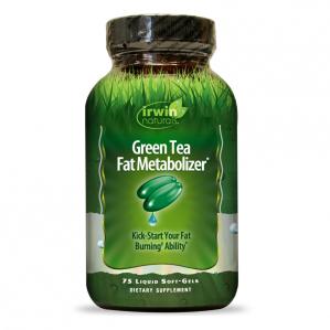 Irwin Naturals Green Tea Fat Metabolizer, 75 Softgels