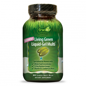 Irwin Naturals Living Green Multi for Women, 90 Softgels