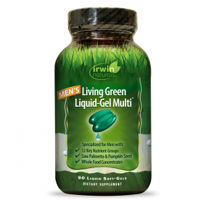 Irwin Naturals Living Green for Men, 90 Softgels