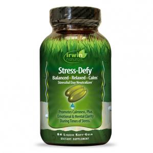 Irwin Naturals Stress-Defy, 84 Softgels