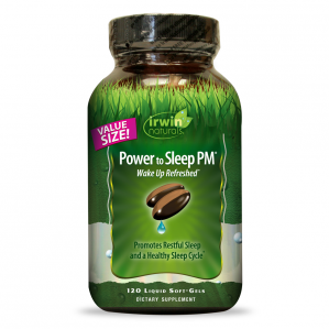 Irwin Naturals Power to Sleep PM, 120 Softgels
