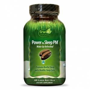 Irwin Naturals Power to Sleep PM, 60 Softgels