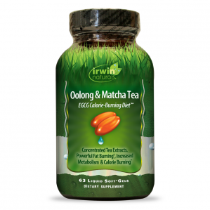 SAMPLE Irwin Naturals Oolong & Matcha Tea, 2 Softgels