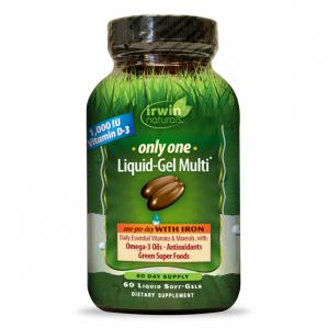 SAMPLE - Irwin Naturals Only-One Multi with Iron, 1 Softgel