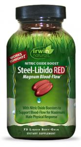 Irwin Naturals Steel Libido RED, 75 Softgels