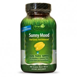 Irwin Naturals Sunny Mood, 75 Softgels