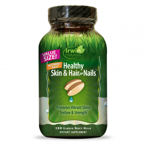 Irwin Naturals Healthy Skin Hair and Nails, 120 Softgels