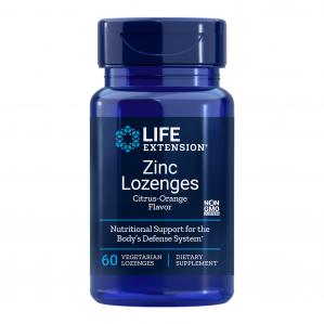 Life Extension Zinc Lozenges, 60 vegetarian lozenges
