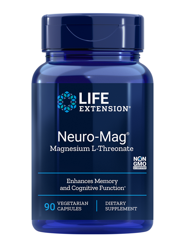 Life Extension Neuro-Mag Magnesium Threonate, 90 VCaps