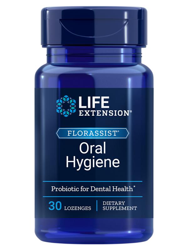 Life Extension Florassist Oral Hygiene, 30 Lozenges