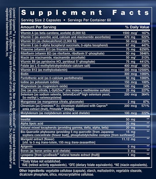 Supplement Facts LE-02314