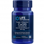 Life Extension Super Ubiquinol CoQ10 w/Enhanced Mitochondrial Support, 100 MG, 60 Softgels