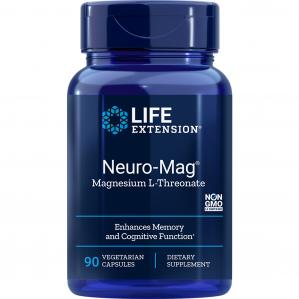 Life Extension Neuro-Mag Magnesium Threonate, 90 VCaps