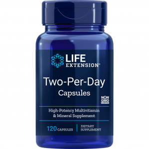 Life Extension Two Per Day, 120 Capsules