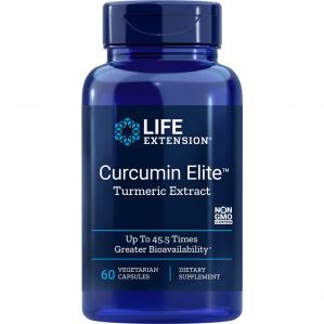Life Extension Curcumin Elite Turmeric Extract, 60 VCaps