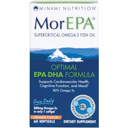Minami Nutrition, MorEPA Family Pack, 120 Softgels