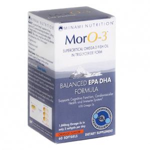Minami Nutrition, Moro-3, 60 Softgels