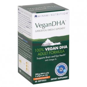 CLEARANCE - Minami Nutrition, VeganDHA, 60 Softgels   Exp  11/14