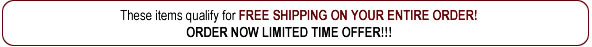FREE SHIPPING on your entire order on all Sedona Labs Products.