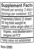 Oreganol P73, Super Strength Oil of Oregano .45 Supplement Facts