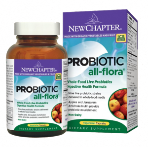 New Chapter Probiotic All-Flora, 120 VCaps