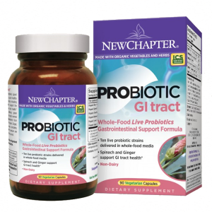 New Chapter Probiotic GI tract, 90 VCaps