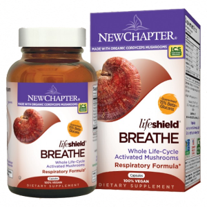 New Chapter Lifeshield Breathe Respiratory Formula, 60 VCaps