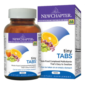 New Chapter Tiny Tabs Multi, 192 Tabs
